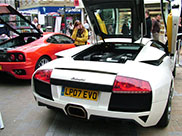 A Lamborghini to woo the shoppers