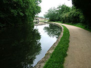 The canal at Newlay