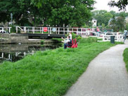 Rodley swing bridge (Bridge 217)
