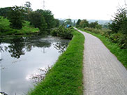 The canal at Airedale
