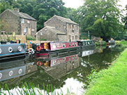 More narrowboats at Thornhill