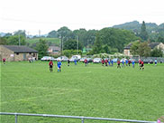 Local amateur football match